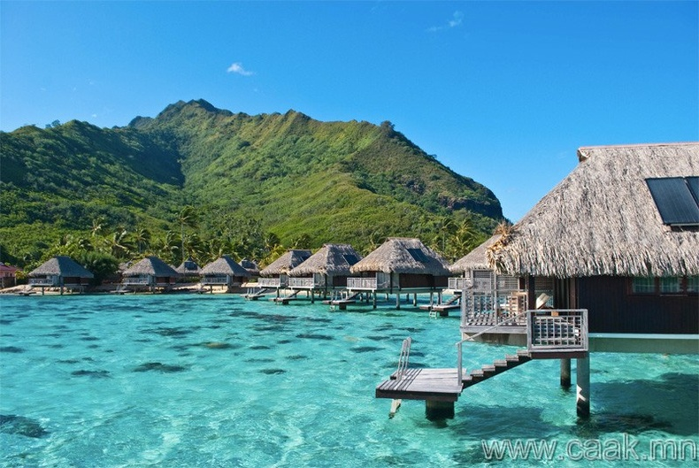 Муреа, Францын Полинези