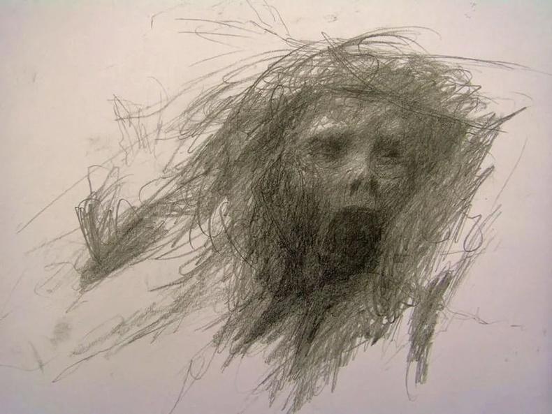 Шизофрени өвчтэй хүний зурсан зураг