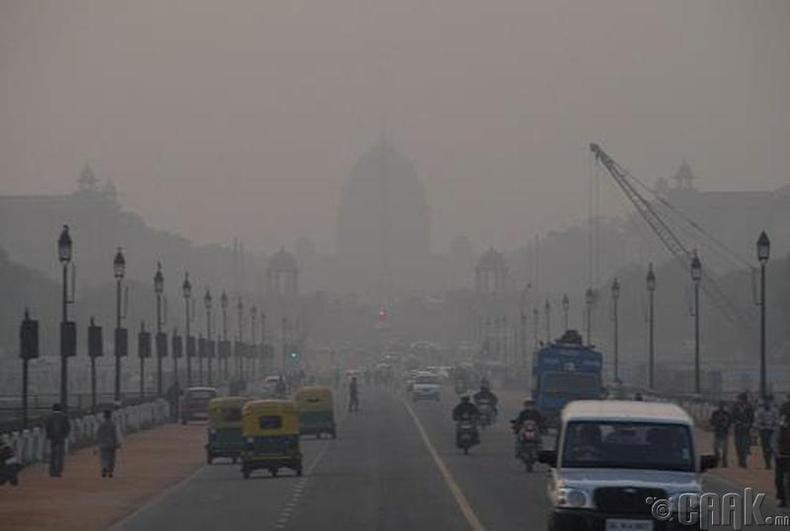 Хамгийн их агаарын бохирдолтой хот