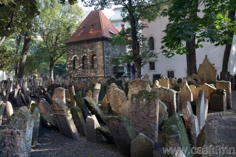 Чех, Праг дахь еврейчүүдийн оршуулгын газар