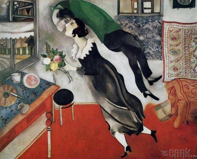 """Марк Шагал """"Төрсөн өдөр"""""""