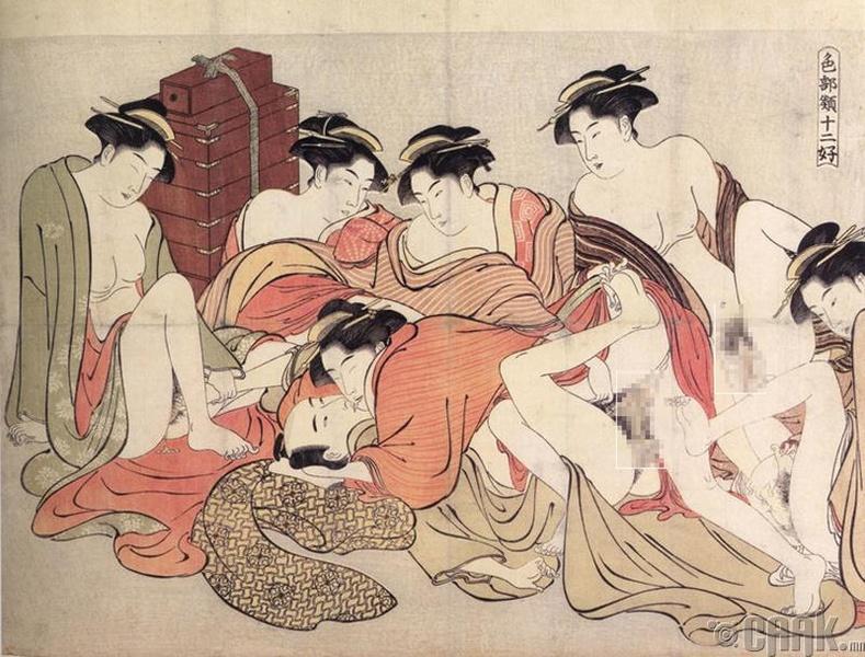 Самурайчууд ижил хүйстэн байсан