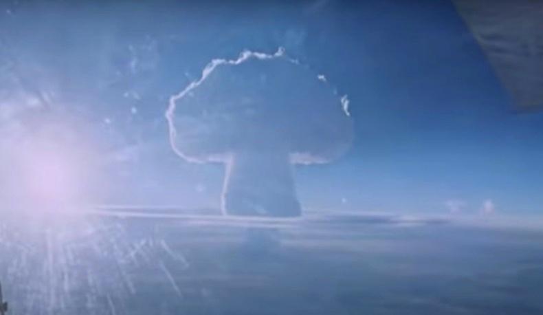 """Хүн төрөлхтний туршсан хамгийн хүчтэй зэвсэг """"Царь Бомба""""-гийн нууц бичлэгийг дэлгэжээ"""