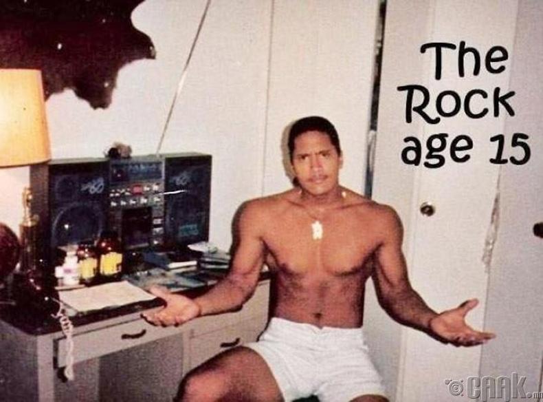 """Дуэйн «Рок» Жонсон (Dwayne """"Rock"""" Johnson)"""