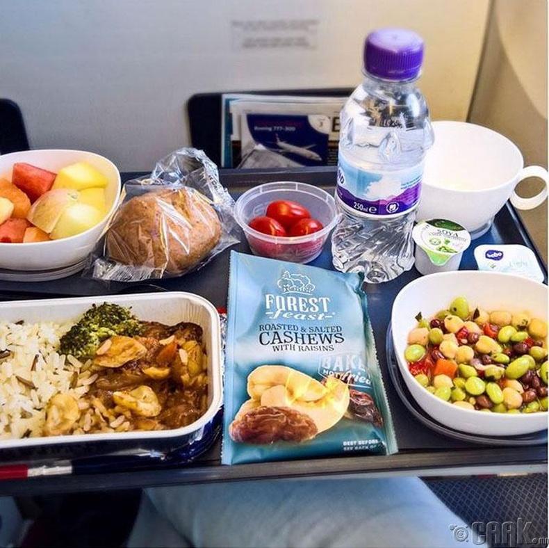 """""""British Airways"""" - Брокколитой будаа, шошны салат"""