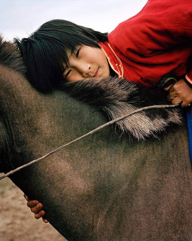 Морьтон хүү, Өвөрхангай аймаг, 2005 (Фредерик Лагранж)