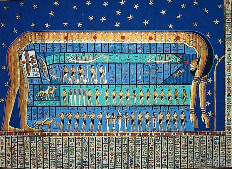 Эртний Египетчүүд гайхамшигтай хуанлитай байжээ