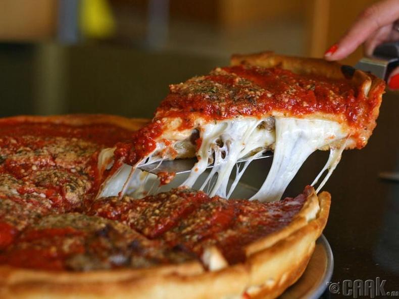 Пицца идэхээ болих
