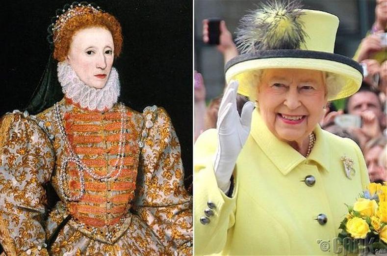 II Элизабет харь гаригийн хүн