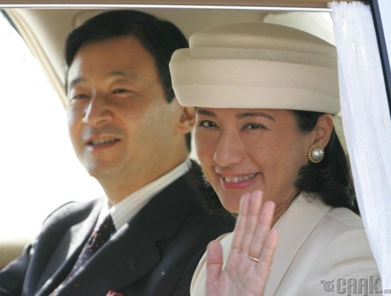 Хатан хаан Масако удаан хугацааны туршид сэтгэл санааны гүн хямралаар шаналаж байна