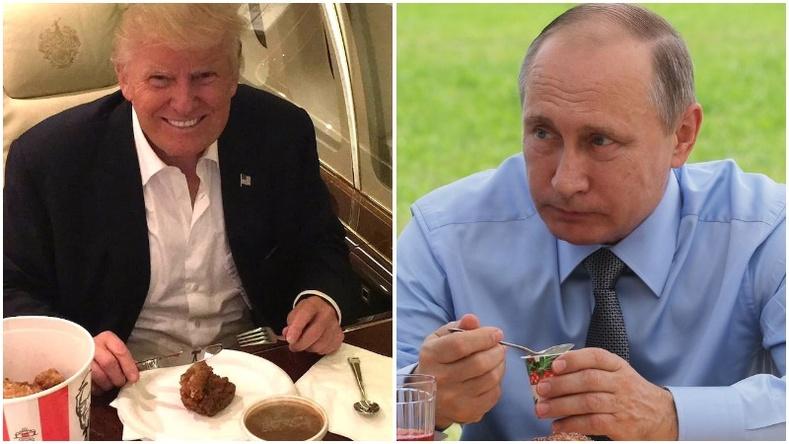 Дэлхийн удирдагчдын нэг өдрийн хоолны цэс юунаас бүрддэг вэ?