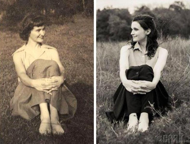 """""""Эмээ ач охин хоёр. Би яг л түүний тусгал мэт..."""""""