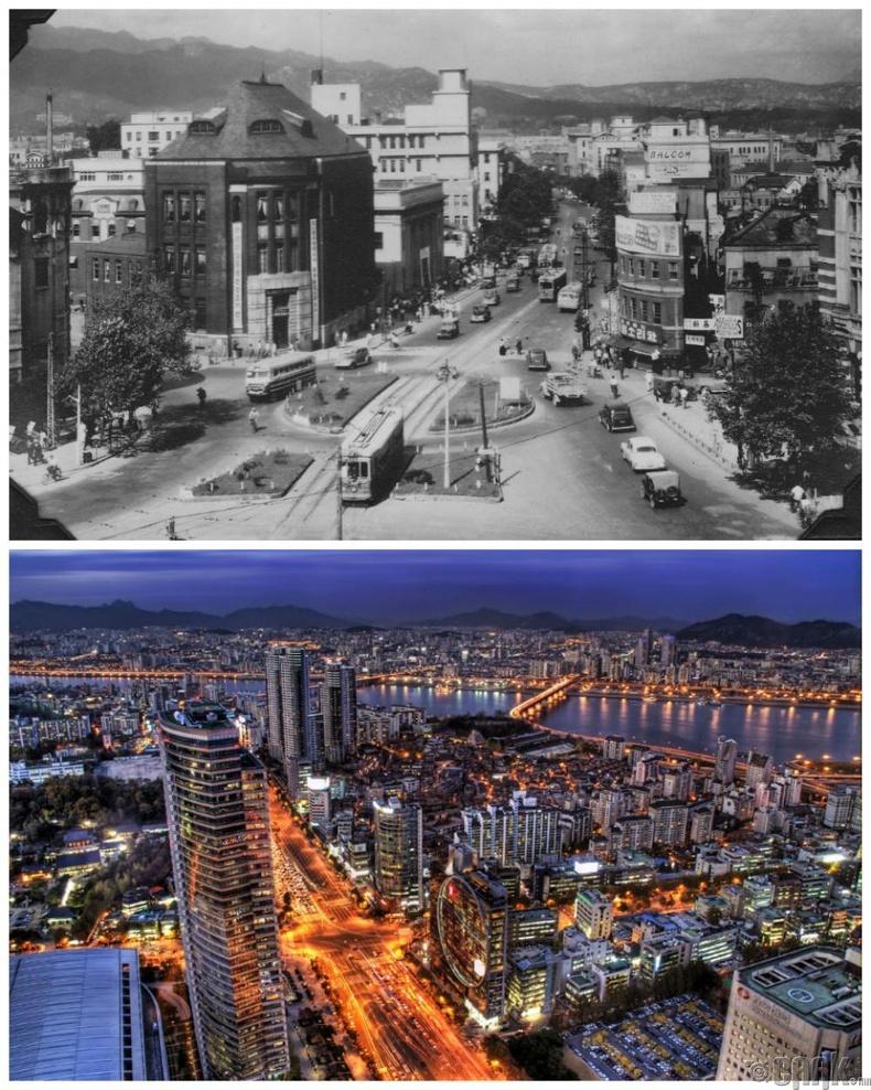 Сөүл, Солонгос: 1950 он - Одоо