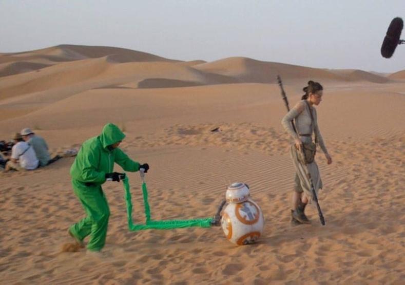 """""""Оддын дайн""""-ы BB-8-ийн хөдөлгөөний нууц"""