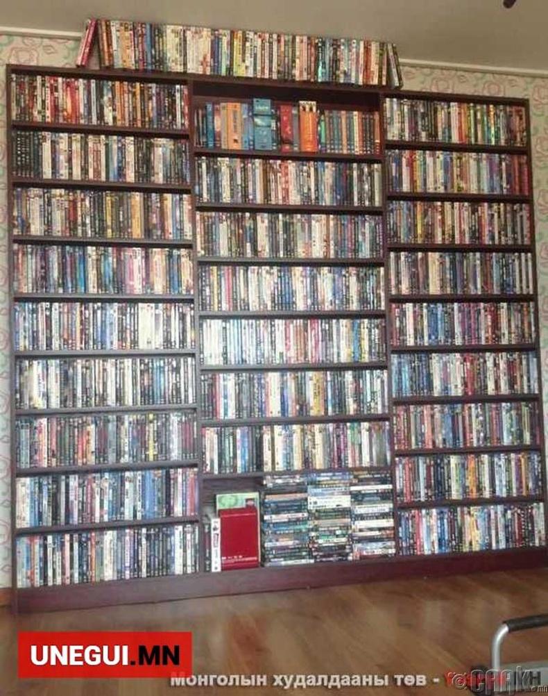 870 DVD цуглуулга