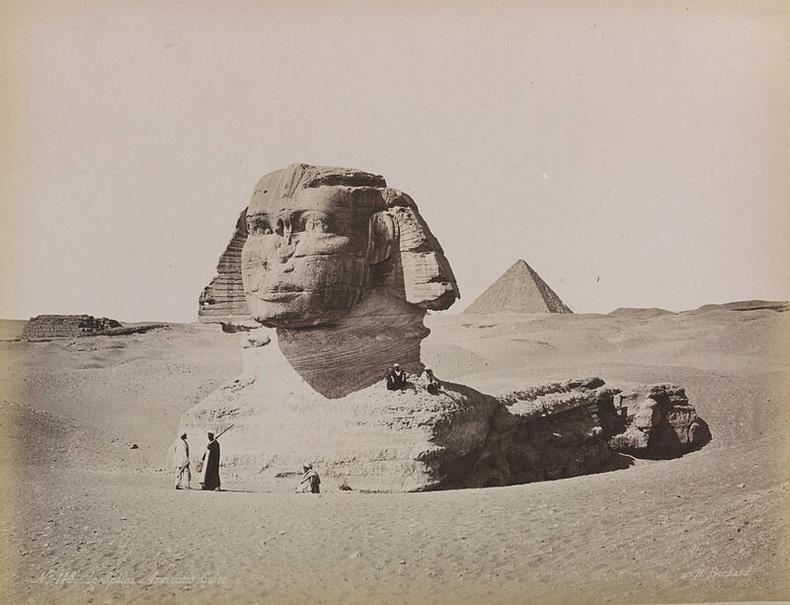 Гизагийн Сфинкс, 1870-аад онд