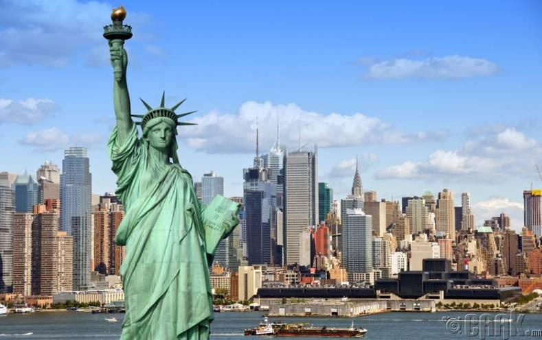 Нью Йорк, АНУ