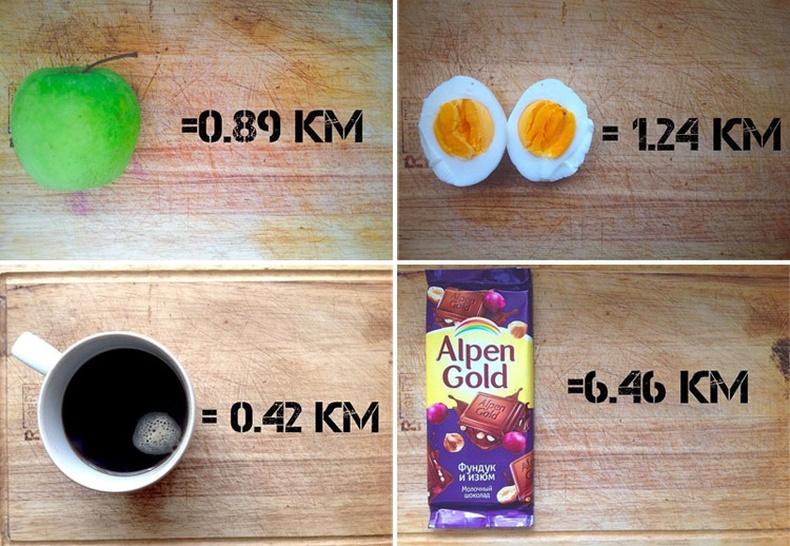 Та эдгээрийг идсэний дараа хэдэн км гүйcнээр хэвийн жинтэй болох вэ?