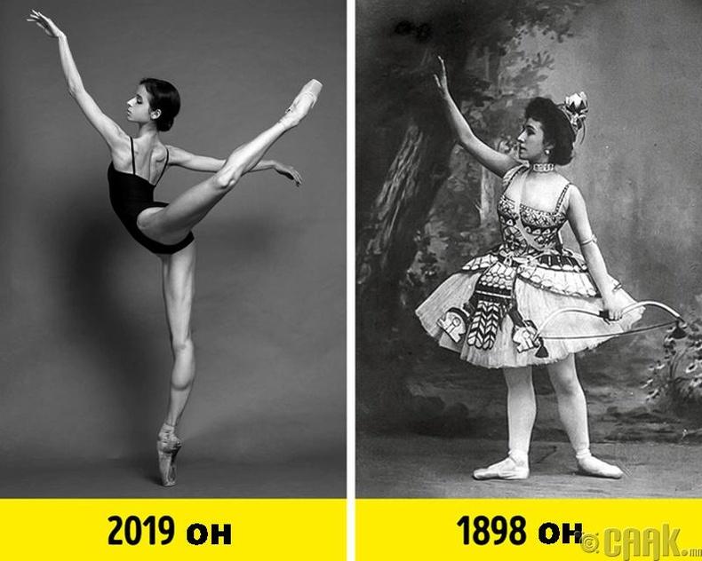 Балетчин хүний байх ёстой жин, өндөр болон балетаар хичээллэгчдийн хөл муухай болдог гэсэн үнэн үү?