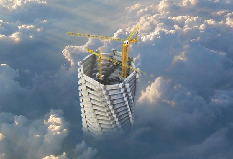 Хүн төрөлхтөн удахгүй Эверестээс өндөр барилга барина!