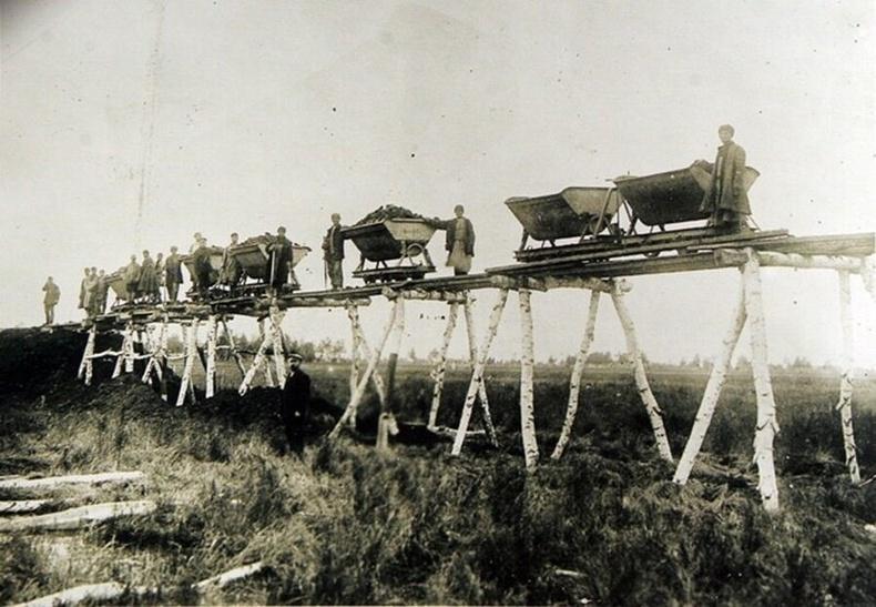 Транссибирийн төмөр замыг барих ажил, 1891