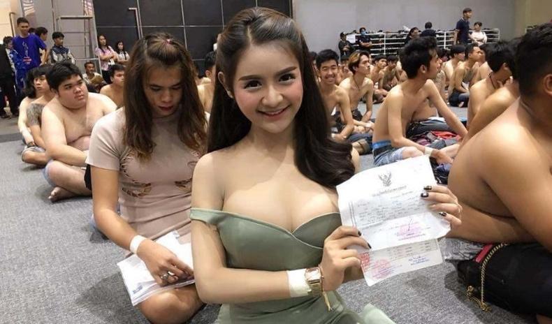 Тайландын 2020 оны цэрэг татлагын үеэрх дүр зураг