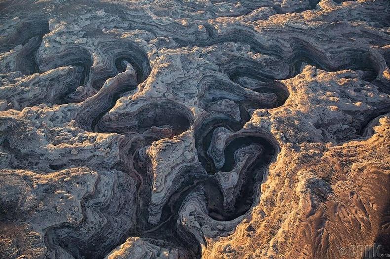 100-аад км урттай боржин чулуун хавцал - АНУ, Юта