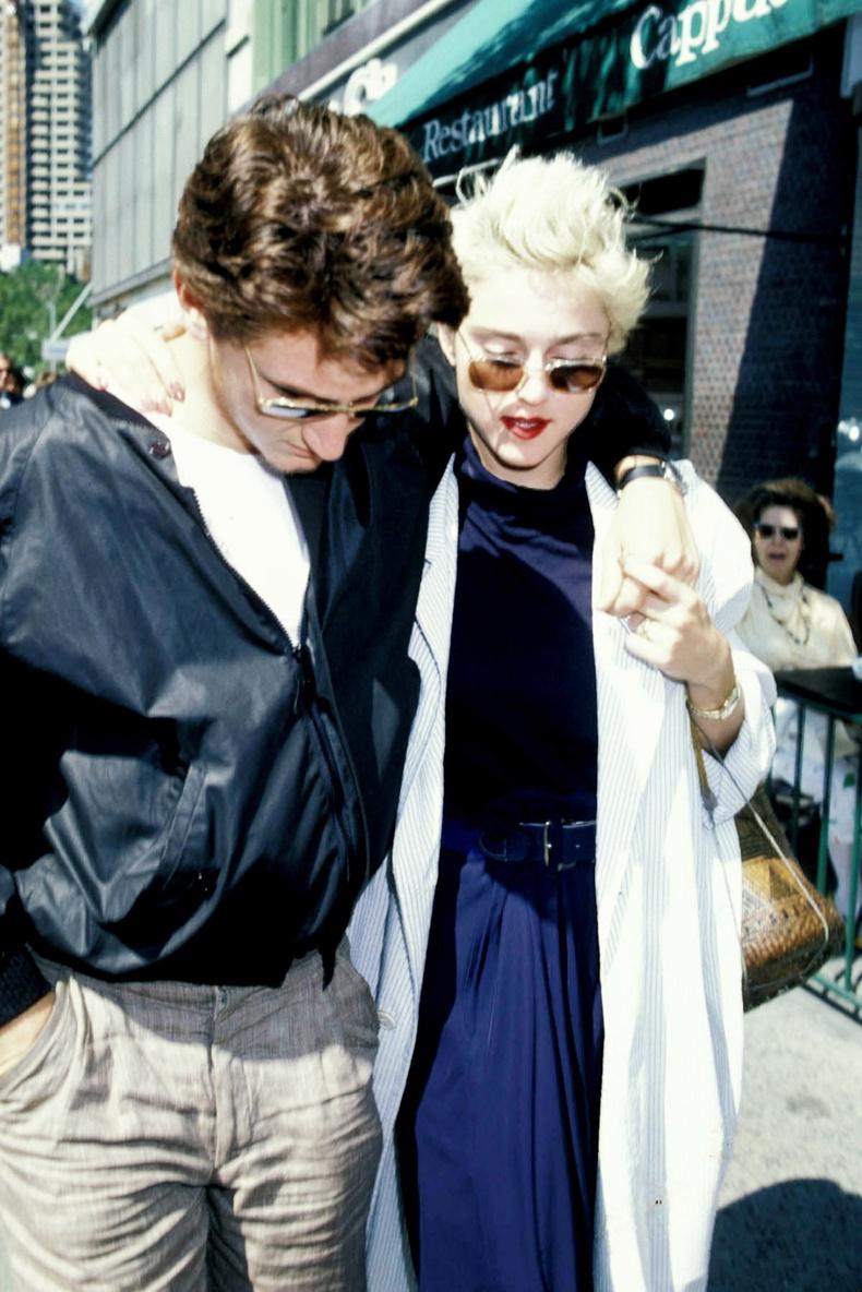 Шон Пенн болон Мадонна, Нью-Йорк хот, 1986 он.