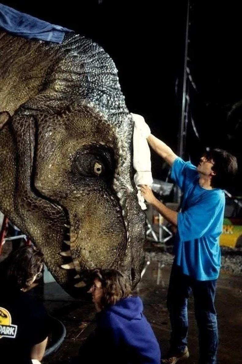 """""""Jurassic Park"""" кино бүтэх үйл явц"""