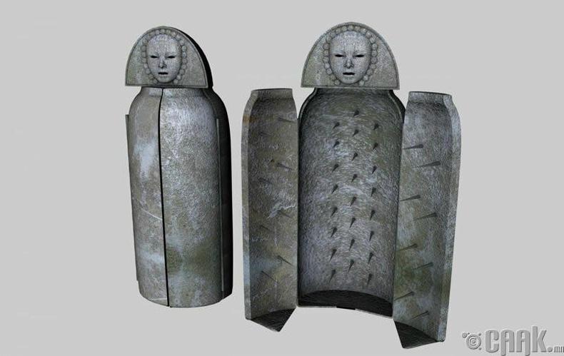 Төмөр эмэгтэй – Дундад зууны үеийн эрүүдэн шүүх хэрэгсэл