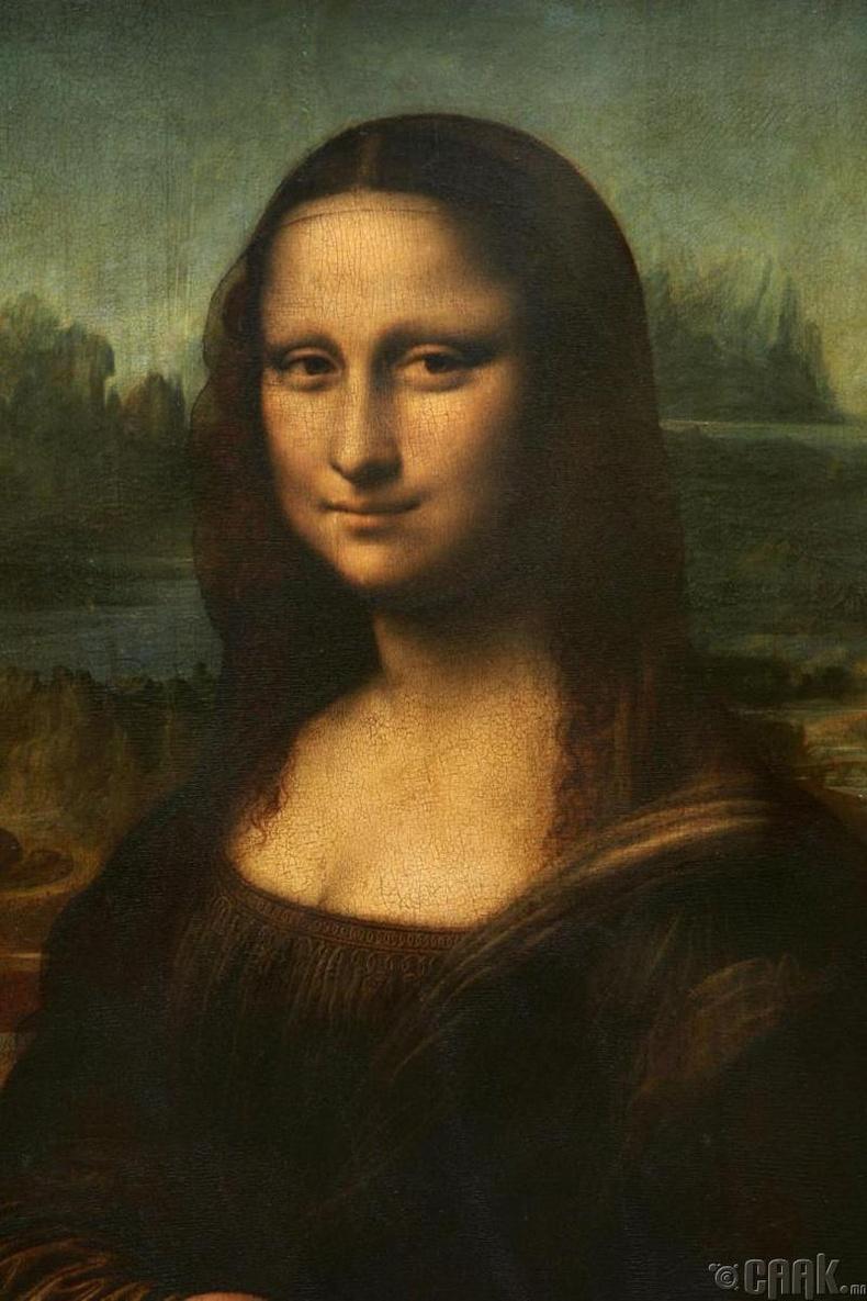 """Да Винчи """"Мона Лиза""""-гаа дуусгаж амжаагүй"""