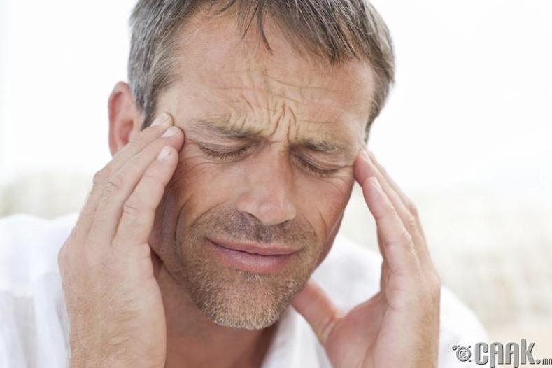 Нас барагсдын чандраар толгойг эмнэх