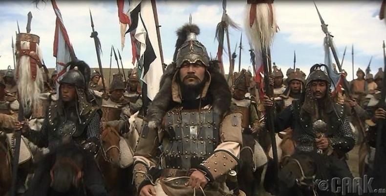 Бухимдалд автсан Чингис хаан