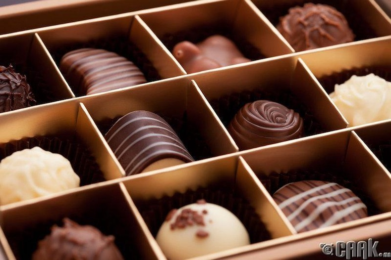 Хясаа, шоколад нь сэрэл хөдөлгөдөг