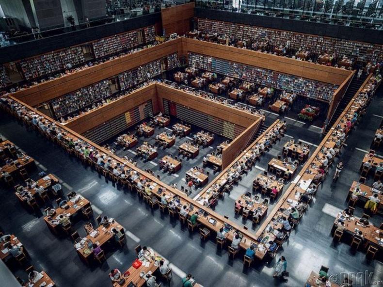 Хятадын үндэсний номын сан, Бээжин, Хятад