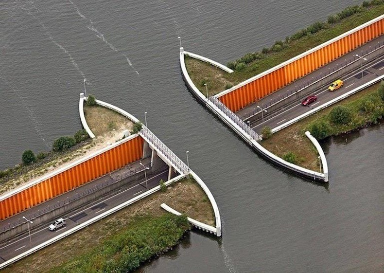 """""""Veluwemeer"""" усан гүүр, Нидерланд"""