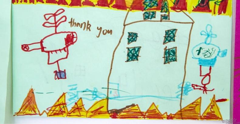Орон нутгийн гал сөнөөгчдөд талархал илэрхийлсэн зураг