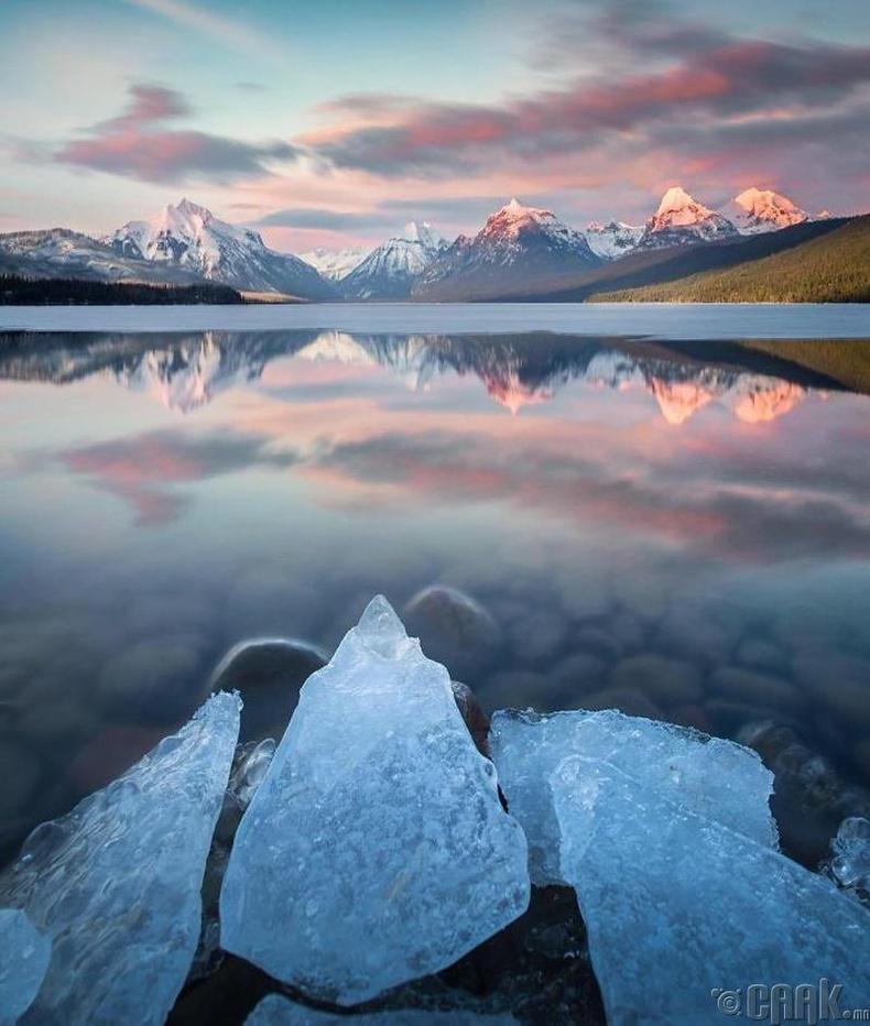 АНУ-ын Гласиор үндэсний цэцэрлэгт хүрээлэн - Гэрэл зурагчин Николас Паркер (Nicholas Parker)
