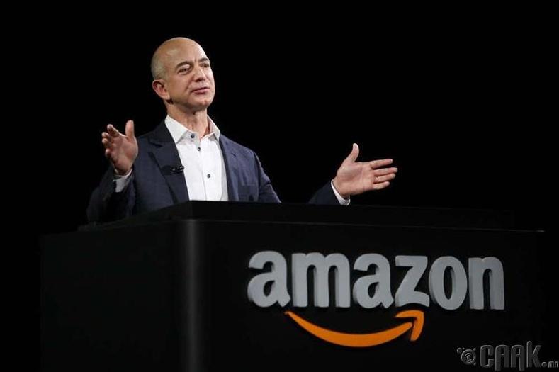 Жефф Безос (Jeff Bezos) - 72.8 тэрбум доллар