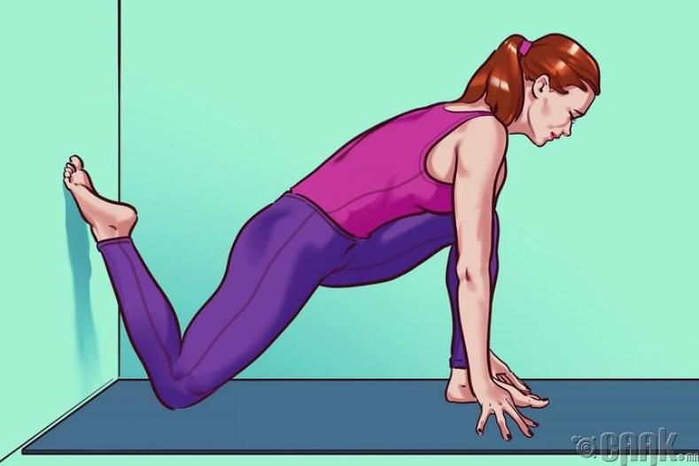 Нугас болон дөрвөн толгойт булчингийн сунгалт