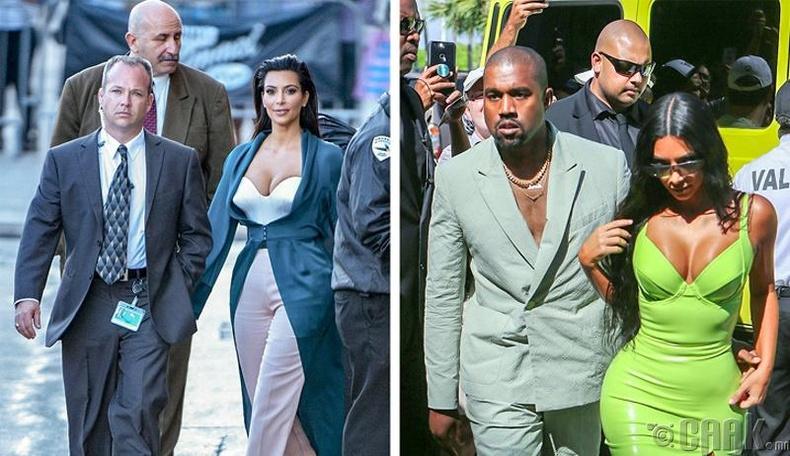 Ким Кардашьян болон Канье Уэст (Kim Kardashian, Kanye West )