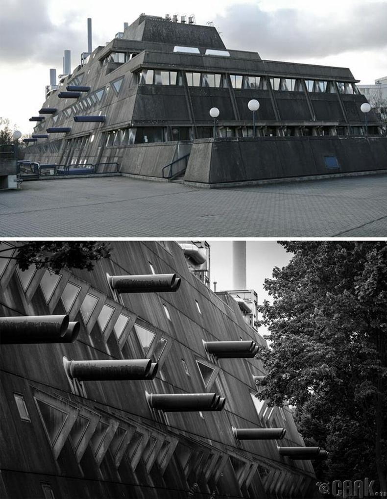 """Берлин дэх """"Анагаах ухааны туршилт, судалгааны хүрээлэн""""-гийн хуучин барилга"""