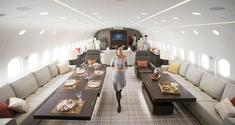 Дэлхийн хамгийн тансаг хувийн онгоцтой танилц!