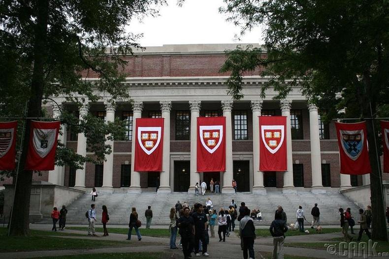 """Harvard University"", АНУ - 98.3 оноо"