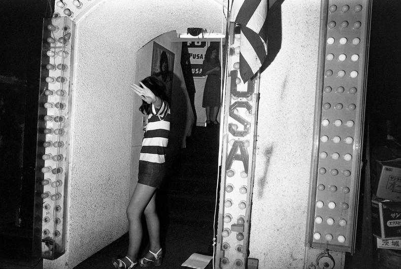 """""""USA"""" нэртэй шөнийн клубд-  Токио хот, 1976 он"""