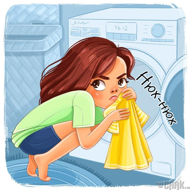 Хувцасны цэвэрхэн эсэхийг үнэрлэж мэддэг