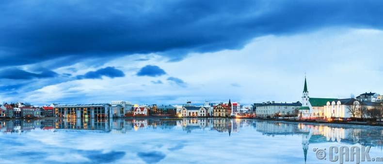 Рейкьявик, Исланд улс