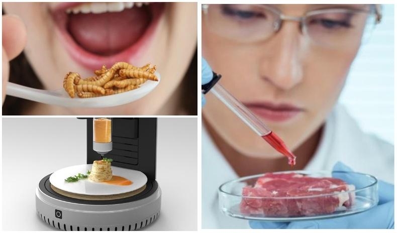 Ойрын ирээдүйд хоол хүнсэнд гарах технологийн хувьсал