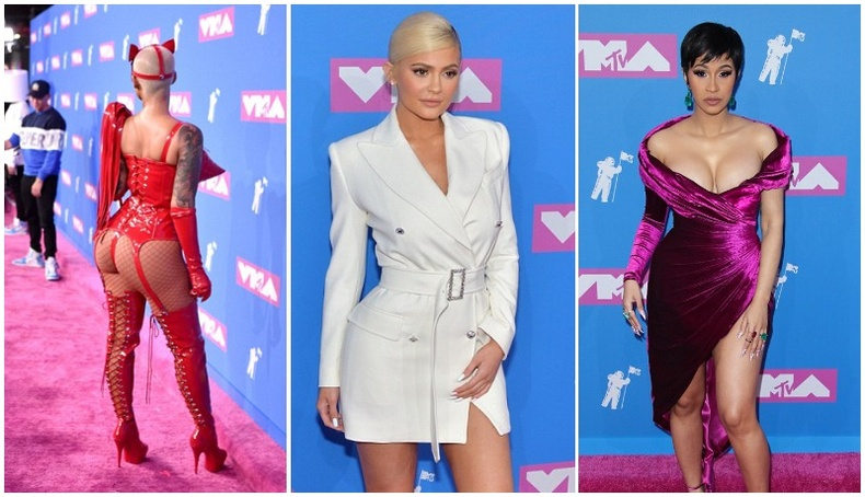 """""""MTV Video Music Awards""""-д хамгийн халуухан хувцасласан одууд"""