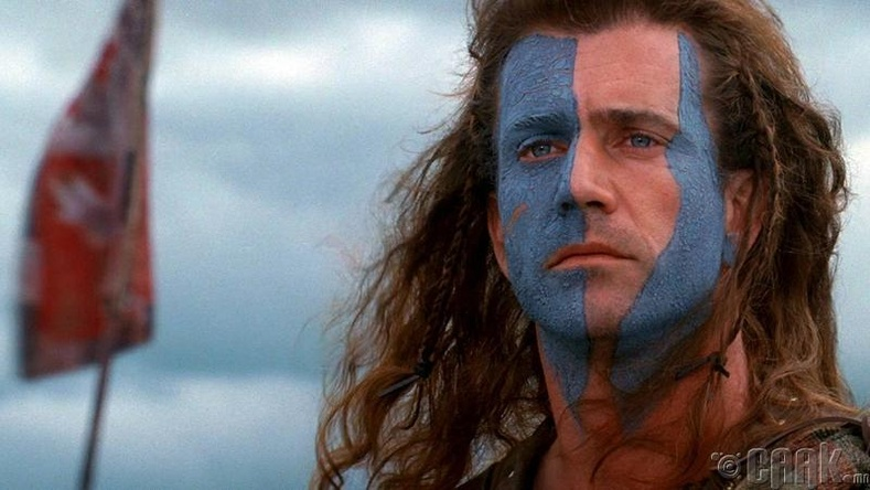 "Уильям Уоллес (William Wallace), ""Braveheart"""